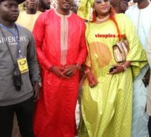 Le couple heureux de la ZIK FM, Cheikh Sarr et Alima Ndione ravit la vedette au combat de Wouly Woulywatt vs Big Pato