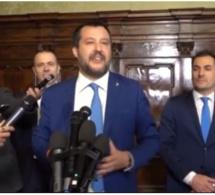 Un Sénégalais attaque deux policiers: La violente réaction du ministre Matteo Salvini (Vidéo)