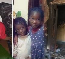 Trois enfants morts à la Zone de captage : le film de l'incendie, les deux filles ont été confiées à leur tante