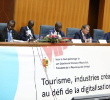 Cérémonie d'ouverture d'Afrika Innovation sur le Forum du Tourisme à Dakar.