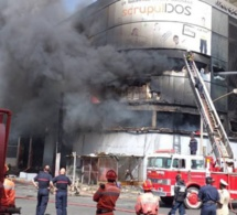 Incendie sur l'avenue Blaise Diagne: Trois personnes asphyxiées par les flammes