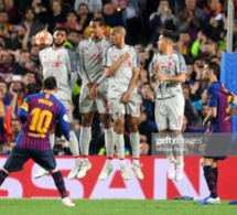 BARCELONE Vs LIVERPOOL: L'incroyable coup-franc de Messi