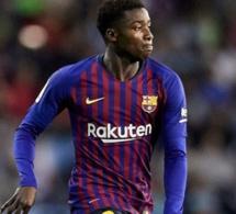 LE BARÇA CHUTE, sur un penalty consécutif à une main de Moussa Wagué