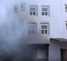 Incendie à Scat Urbam : Un immeuble R+4 prend feu