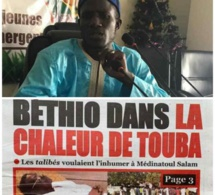 « Béthio dans la chaleur de Touba »: Le journal « Le Quotidien » choque les Mourides