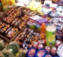 Pikine: Saisie de 14 tonnes de produits impropres à la consommation