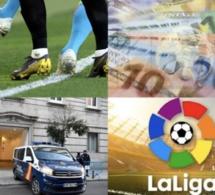 Espagne : plusieurs footballeurs arrêtés pour des matchs truqués