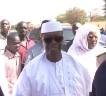 VIDÉO – Louga: Le Président ivoirien Alassane Ouattara à l'inhumation de son ami Djiby Sakho