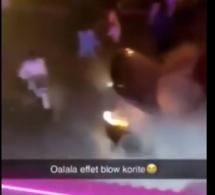 Vidéo – Un autre « blowman » incendie sa voiture en voulant impressionner