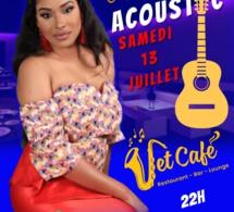 ANNIVERSAIRE: CHADIA EN LIVE ACCOUSTIQUE LE 13 JUILLET AU JET CAFÉ
