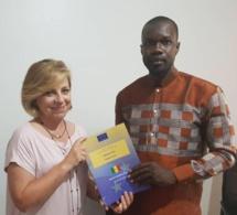 Les observateurs de l'UE en visite chez Ousmane Sonko