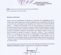 Affaire Petro-Tim : Abdoul Mbaye adresse une lettre à la Dic pour...
