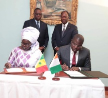 Macky Sall à Abidjan : Signature de 5 accords de coopération (en images)