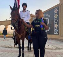 CAN 2019 – Voici la supportrice Tanzanienne qui fait le Buzz en Egypte avec ses formes généreuses..