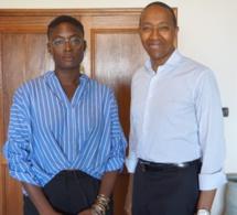 Une photo douteuse entre Abdoul Mbaye et Meyni Jones, journaliste de la BBC accusatrice de Aliou Sall sur l'affaire petrotim.