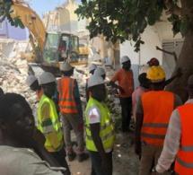 Effondrement d'un immeuble R+1 à Yarakh : comment le corps coincé sous les décombres a été extrait