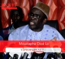 Moustapha Cissé Lo, je ne suis pas candidat pour créer un parti politique je soutien Macky sall et je suis dans l'APR.