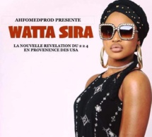 Watts Sita Watta Konneh signée, par le LABEL international AHFOMEDPROD. Pour la réalisation et production  intégrale de son 1er ALBUM -