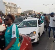 FINALE CAN 2019: La joie et le bonheur dans le coeur des Sénégalais Dakar manifeste la gloire.