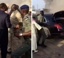 Mercedes présidentielle: « le véhicule est irrécupérable » (Expert)