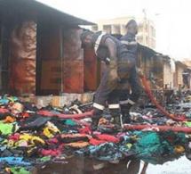 Série d'incendies sur les marchés: La police technique a bouclé et déposé le rapport d'enquête