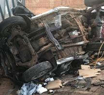 Accident-Tamba : Un camion malien rentre en collision avec une voiture « 7places »