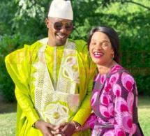 """Admirez le """"sangne sé"""" de l'incontournable de la ZIK FM, Cheikh Sarr a fêté la Tabaski avec madame à Paris"""