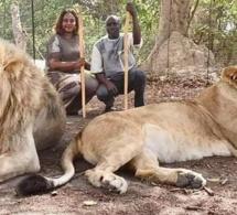 Aly Ngouille et sa femme profitent pleinement des vacances… (photos)
