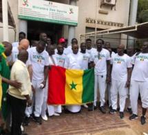"""Mondial basket 2019: le drapeau national remis aux """"Lions"""""""