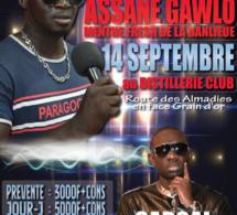 """La menthe fresh de la banlieue, Assane Ngawlo vous donne rendez-vous le 14 septembre """"SARGAL PAPE DIOUF"""" AU DESTILLERIE CLUB"""" RTE DES ALMADIES"""
