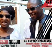 Youssou Ndour au FOREST de Bruxelles le 14 septembre regardez les préparatifs en Belgique.