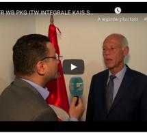 """Présidentielle tunisienne: """"Je ne suis le candidat d'aucun parti et je le resterai"""", promet Kaïs Saïed"""