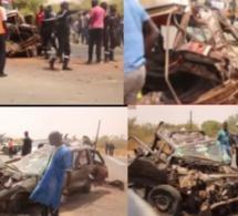 Thiès : 6 Morts dans un grave accident au croisement Mont Roland-Tivaouane
