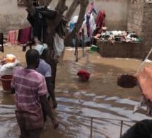 Koungheul: plusieurs maisons emportées par les fortes pluies de la nuit dernière