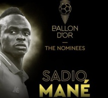 Officiel- Ballon d'or France Football: Sadio Mané parmi les premiers nominés !