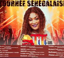 """TOURNÉE SÉNÉGALAISE: TITI au coeur des régions du Sénégal avec """"NAMONALEN"""" en live ."""