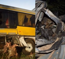 UN MORT DANS UN VIOLENT ACCIDENT À HAUTEUR DE SAINT-LOUIS