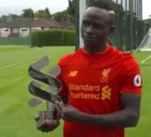 Sadio Mané élu meilleur joueur africain du mois