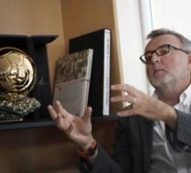 Le vote de Pascal Ferré, rédacteur en chef de France Football, juré français du Ballon d'Or, avec Sadio Mané en première place