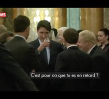 Vidéo - Emmanuel Macron, Boris Johnson et Justin Trudeau filmés entrain de se moquer de Trump?