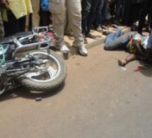 Diamaguène Sicap-Mbao : un bus tue un lutteur à bord d'une moto