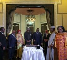 Photos : Le Président Macky Sall a fêté son anniversaire lors du Diner Officiel au Old Cataract sur invitation du Président El-Sissi