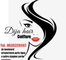 DIJA HAIR BY NDEYE KHADY LA SEULE DESTINATION DE VOS COIFFURES À PARIS 28 BOULEVARD ORNANO 75018 METRO LIGNE 4 SIMPLON