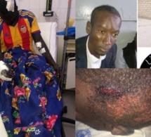 Les images insoutenables de la barbarie des étudiants de l'UCAD qui ont pris à parti un de leurs camarades au campus »Âmes sensibles »