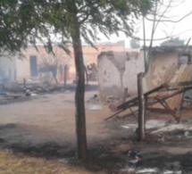 Louga : Un incendie ravage des cases à Ngar Peul