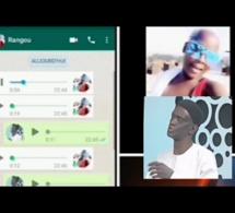Vidéo : La Discussion Whatsapp entre Mame Matar Gueye et Rangou qui fait le buzz