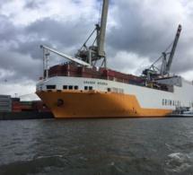 """Voici """"Grande Nigéria"""", le bateau qui transportait la tonne de drogue saisie au Port de Dakar"""