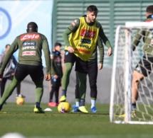Naples: Koulibaly a repris les entraînements