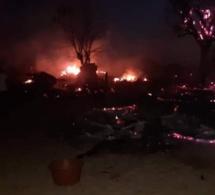 Louga : Le village de Nder Babou ravagé par un incendie (Photos)