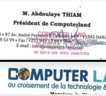 Marché de près de 100 000 Ordinateurs : l'Adie octroie un gré à gré de plus de 12 milliards à Thiam Computer Land qui ne livre pas tout...